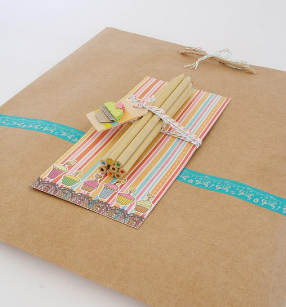 Pepping up paper bags for gifting
