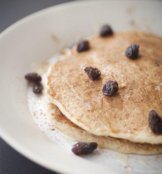 Wholewheat Banana Pancakes