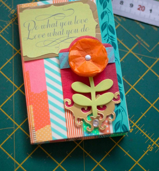 Washi Tape Project: Another Card/Note/Photo Holder