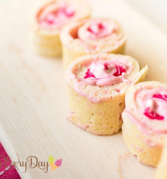 Yoghurt and Sesame Halwa Pancake Rolls