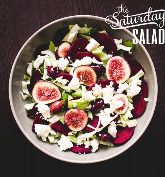 The Saturday Salad: Fig, Feta and Beets