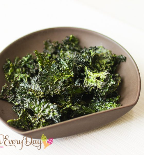 Crispy Kale with Baharaat