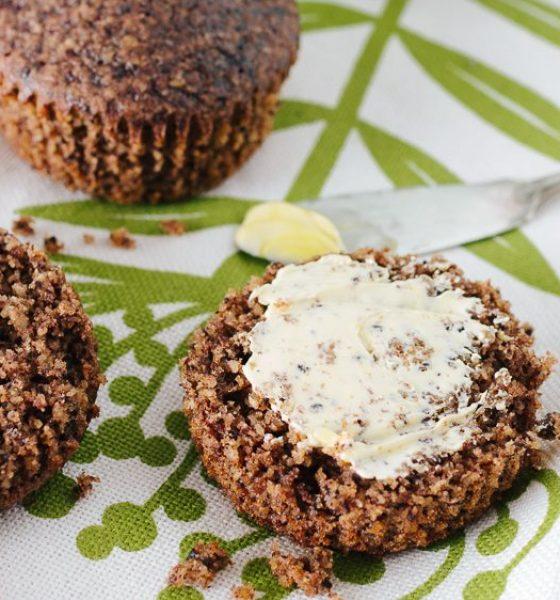 Gluten-free Cacao Breakfast Muffins