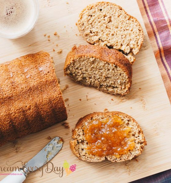 Banana loaf with Sesame halwa
