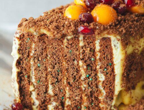 Foodgrams: Tennis Biscuit Fridge Cake
