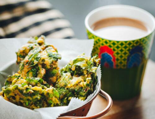 Crunchy Spinach Pakoras