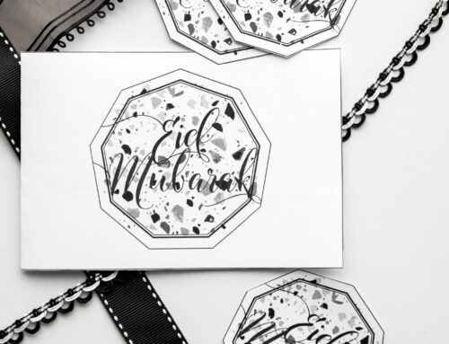Eid Printables 2020: Eid Mubarak Card and Gift Tag