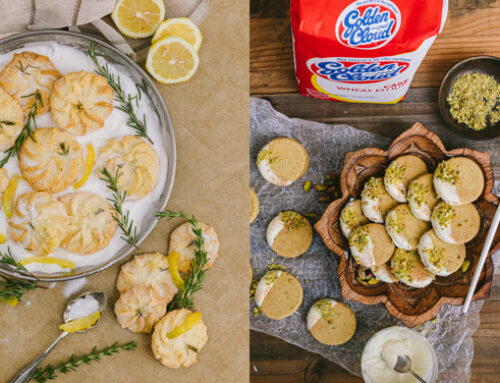 Egg-less Butter Biscuits with Golden Cloud Flour (Two Variations)