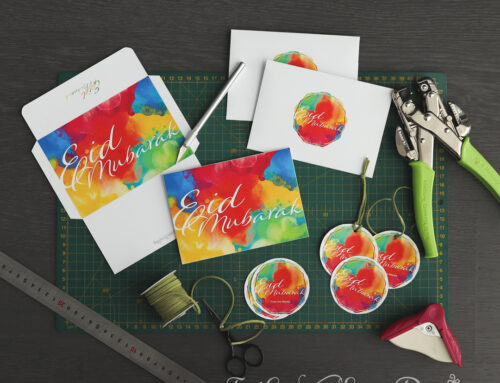 Eid Printables 2021: Eid Mubarak Gift Tag and Envelopes