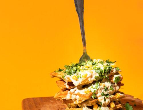 Mielie Meal (Maize Meal) Waffles